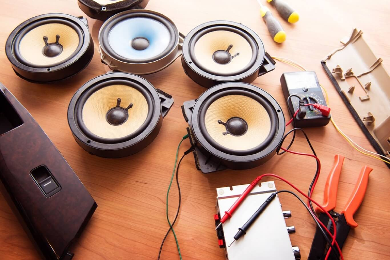 2 and 3 ways speaker