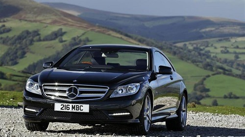 Mercedes-Benz CL 2010