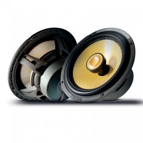 he 2-way coaxial speakers