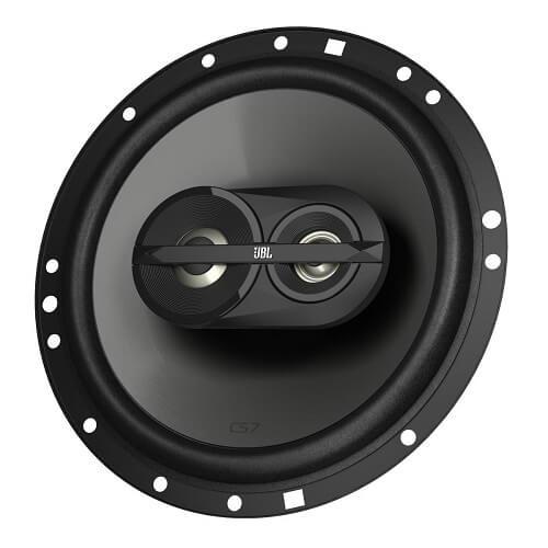 The 3-way coaxial speaker in detail