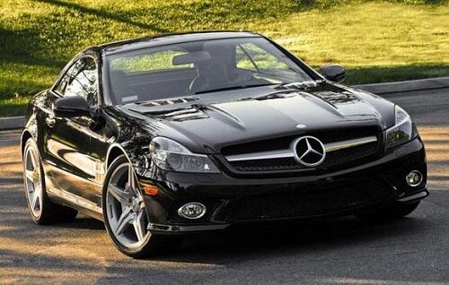 The Mercedes-Benz SL 600 (1)