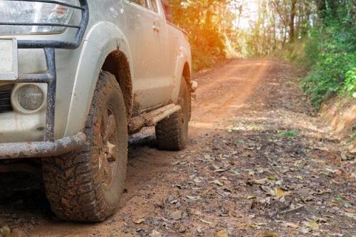 effect on gravel roads