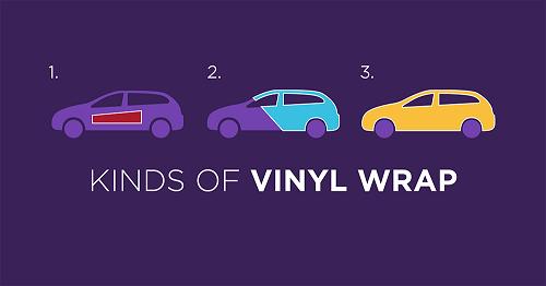 types of vehicle vinyl wrap