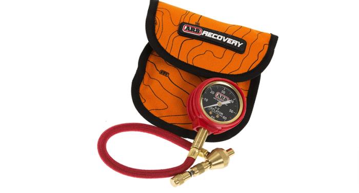 ARB 505 tire pressure gauge and E-Z deflator kit