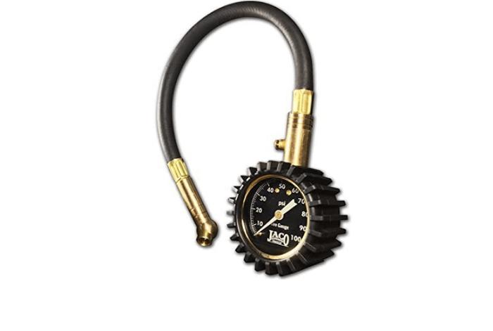Jaco elite analog tire pressure gauge