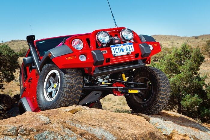 Kinds of lift kits for your Jeep Wrangler
