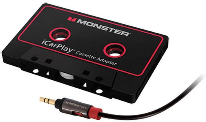 Monster iCarPlay cassette adapter