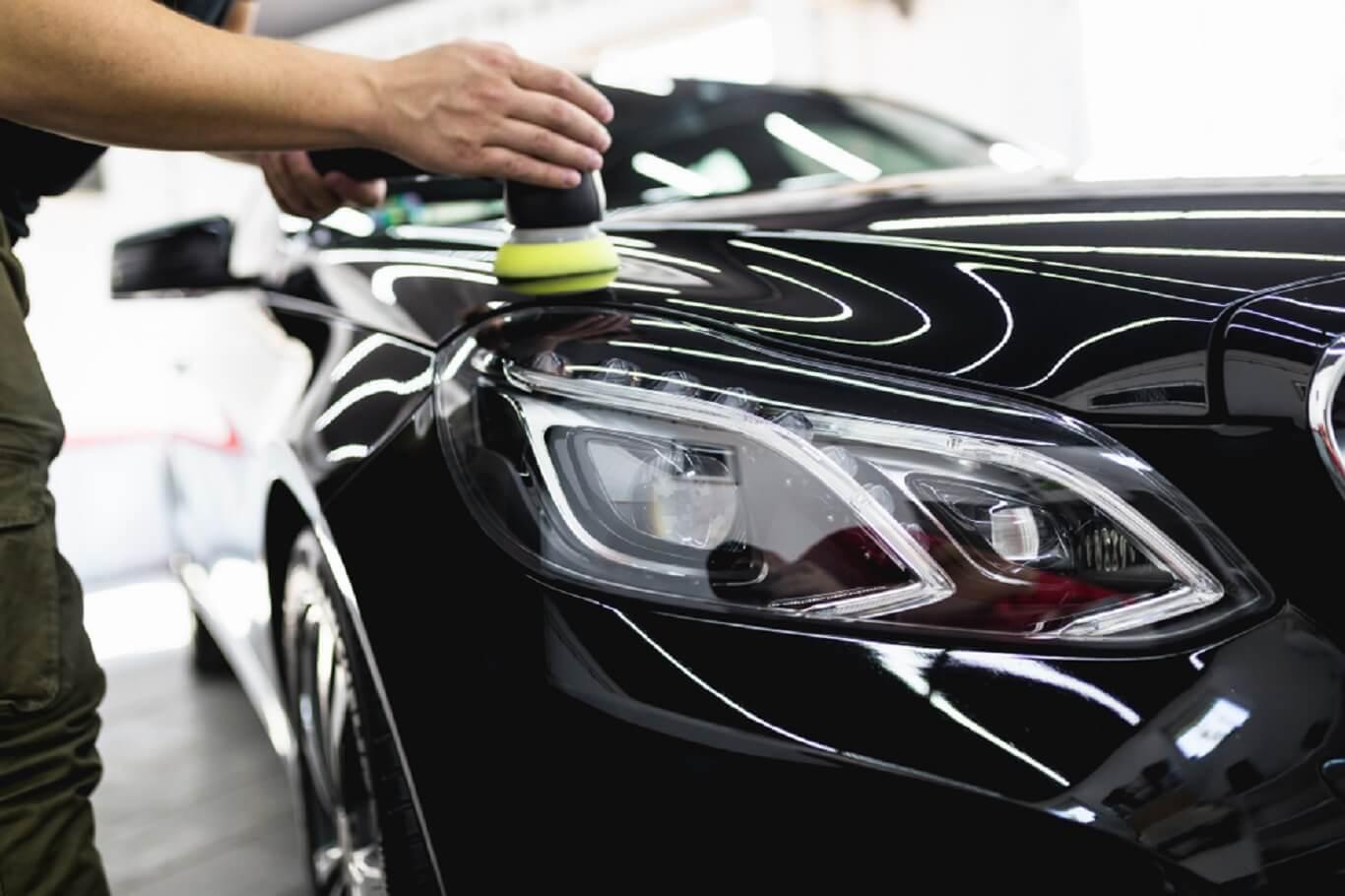 black car wax
