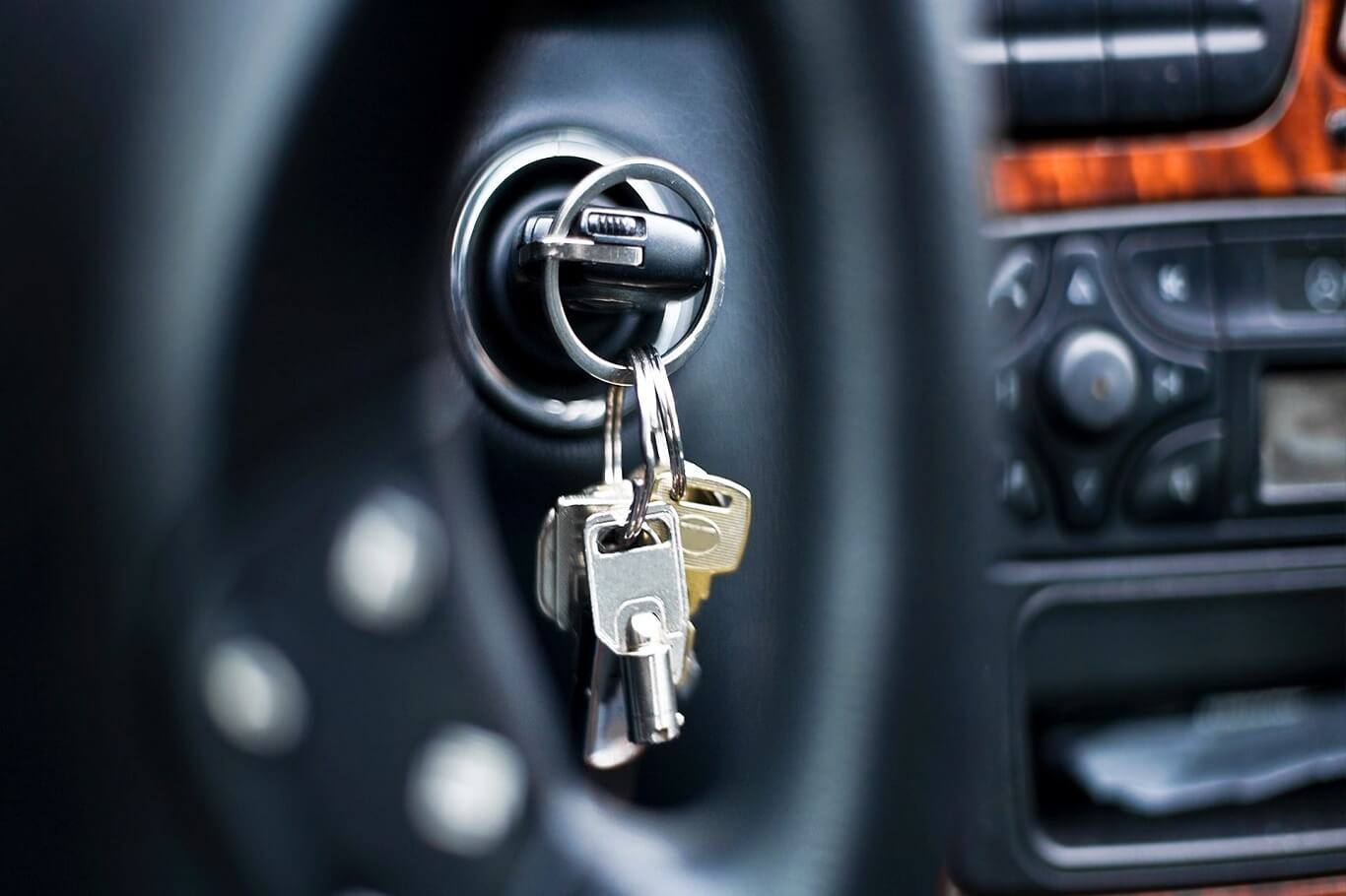 key stuck in the ignition