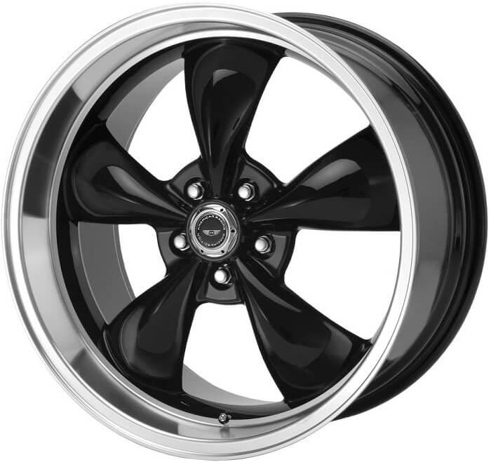 American Racing Custom machined wheel