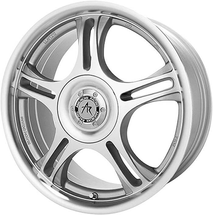 American Racing Estrella machined finish wheels