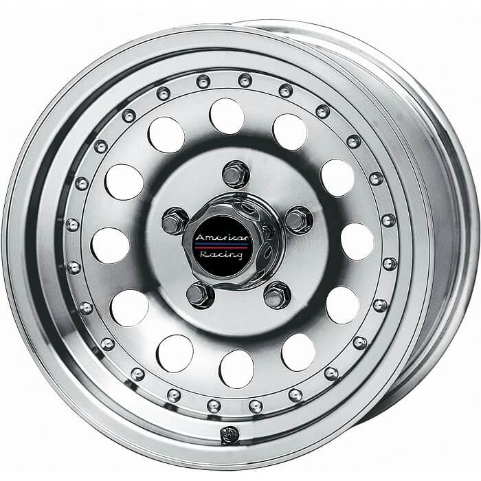 American Racing Outlaw II machined wheel