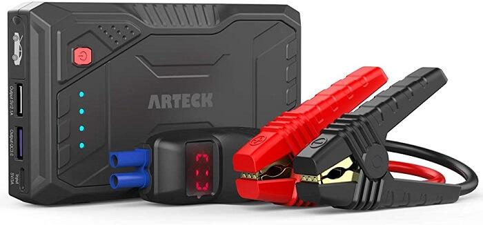 Artech 800a Peak Portable Car Jump Starter