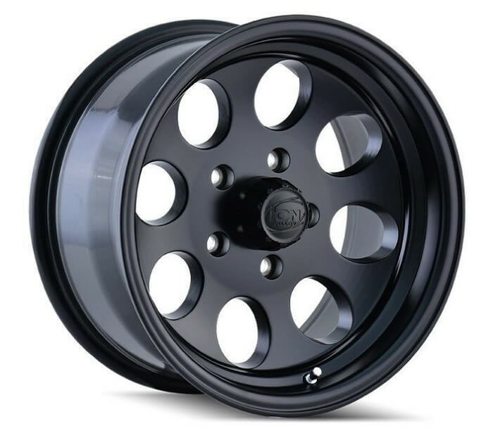 Baja Satin Black wheel