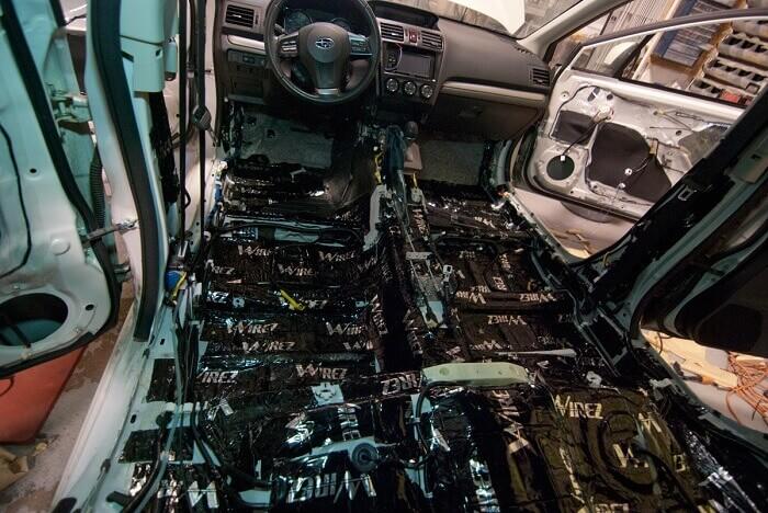 Best automotive sound-deadening insulation..