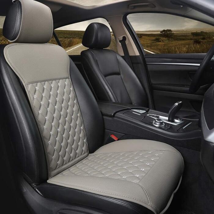 Black panther car seat protector