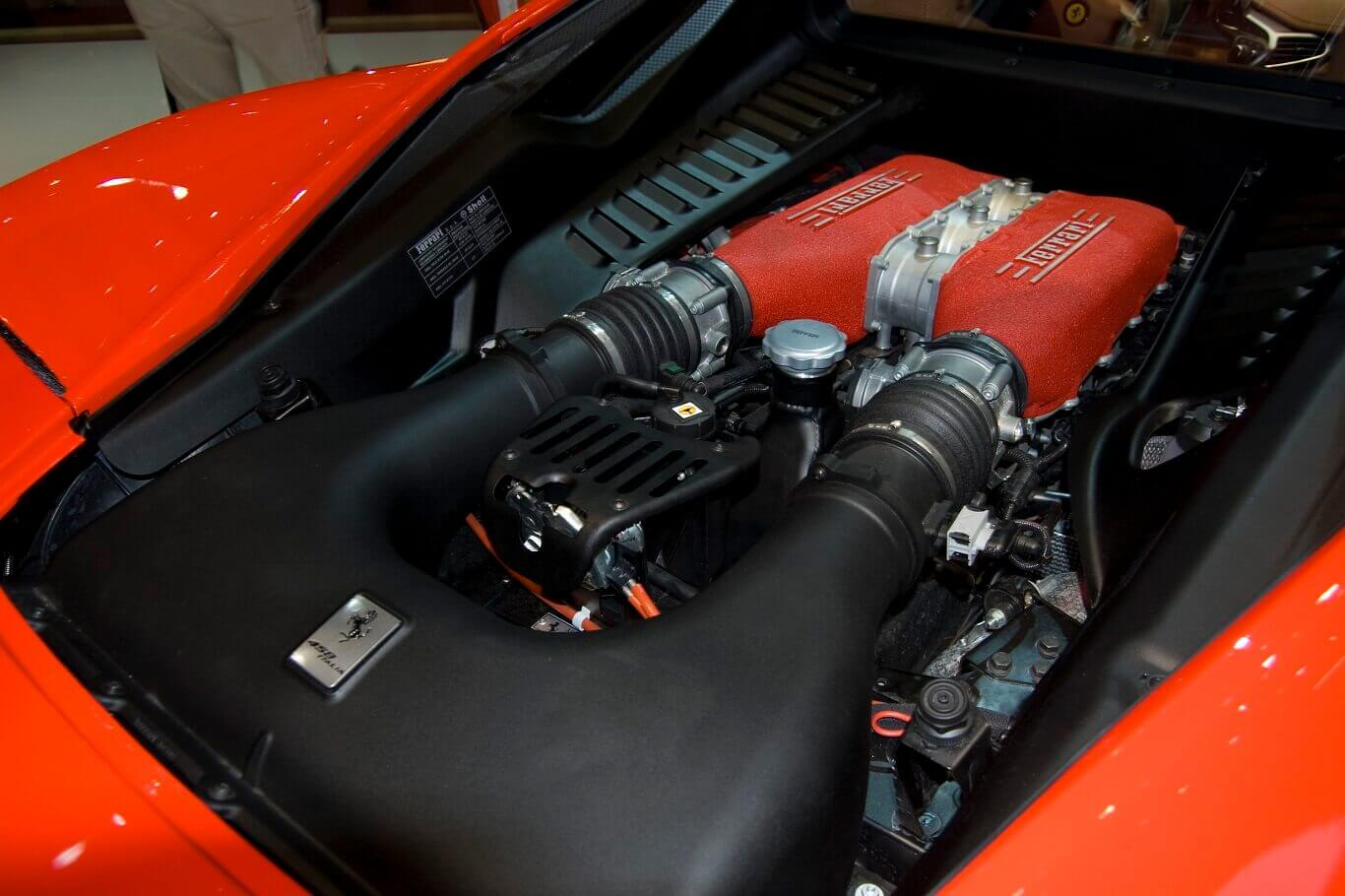 Cars with engines in the back