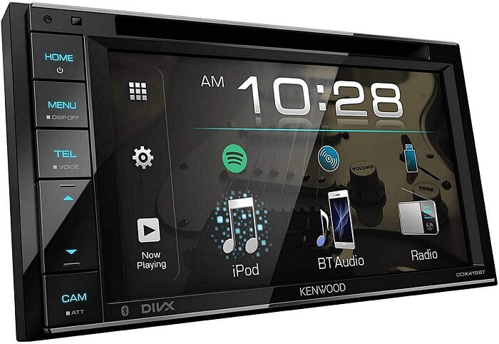 Kenwood DDX25BT Touch Screen Car Stereo