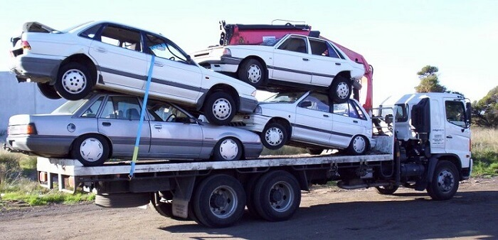 The junk car removal process helps you generate money