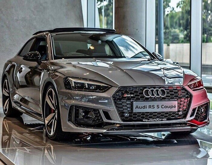 What major expenses are covered by the Audi warranty