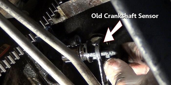 old-crankshaft-position-sensor