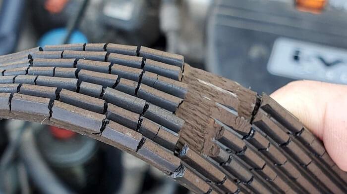 old-serpentine-belt