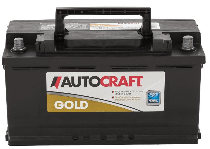 AutoCraft Automotive Battery