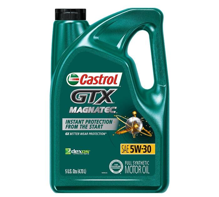 Castrol GTX Magnatec full synthetic motor oil