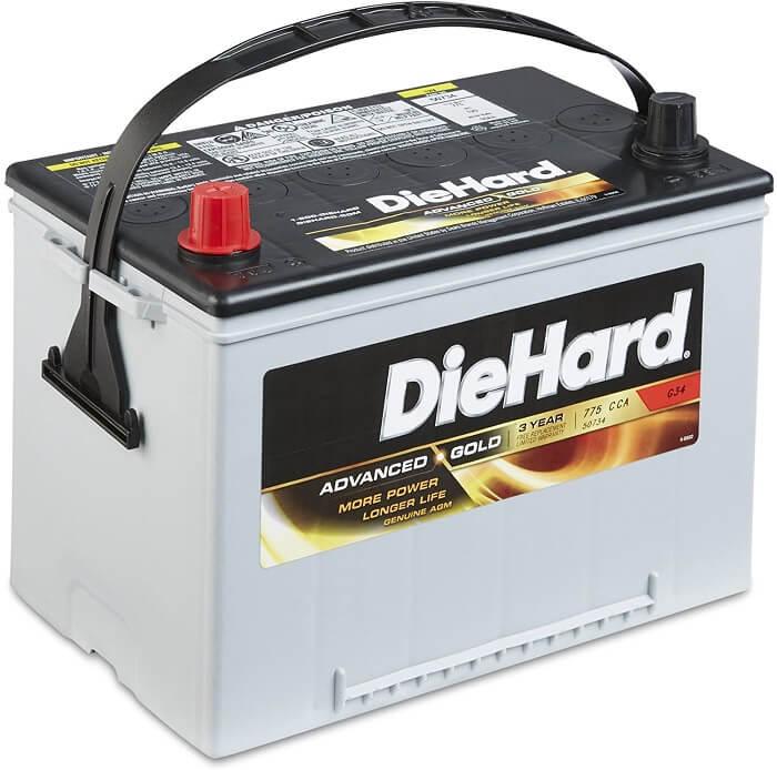 DieHard Advanced Gold Battery