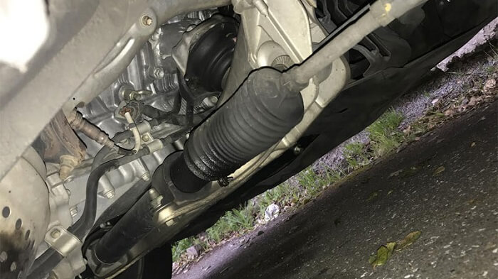 How does a steering rack fail