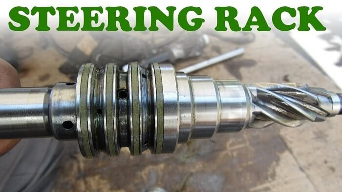 How does a steering rack work