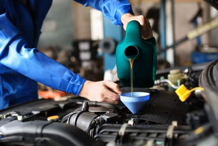 How many times must one check the oil level