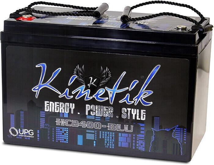 Kinetik 2400 Watt Battery