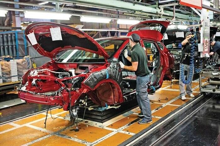 Progressing automotive industries'