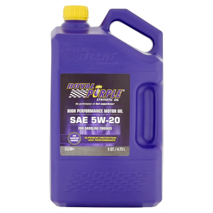 Royal Purple high-performance synthetic oil