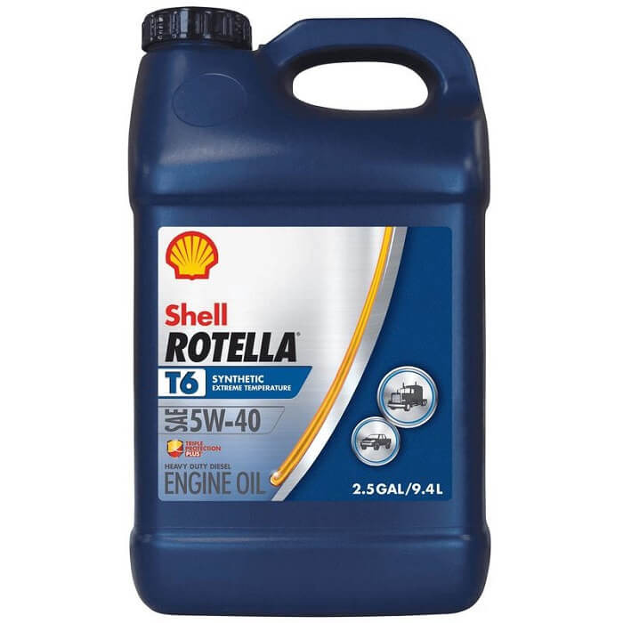 Shell Rotella full synthetic diesel oil