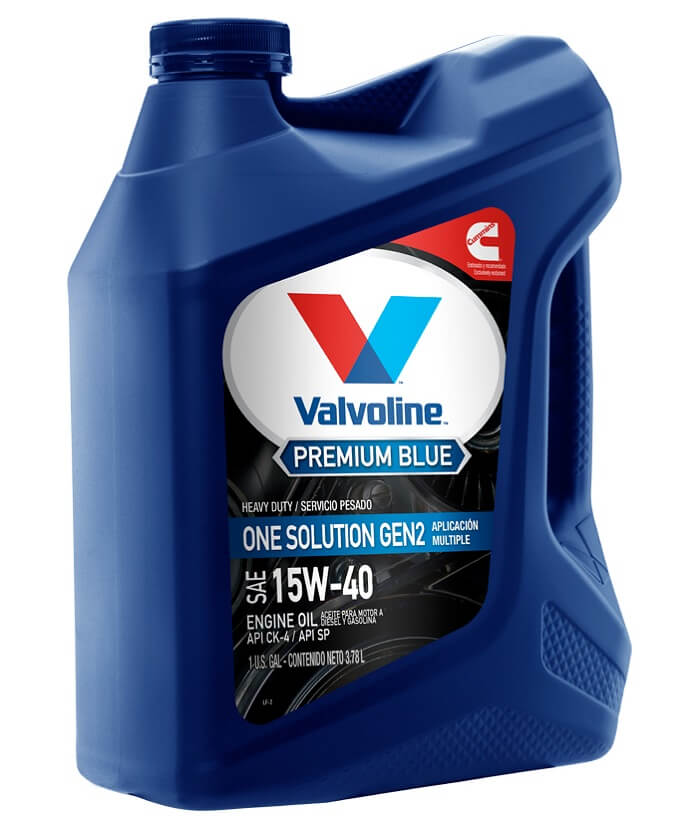 Valvoline Premium Blue 8600 ES SAE 15W-40 Duramax lml Engine Oil