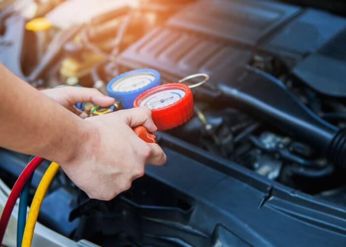 car AC Pressures