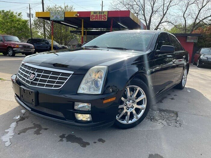 2007 Cadillac STS for $7,500