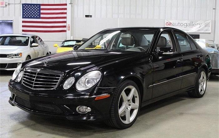 2009 Mercedes-Benz E350 for $8,500
