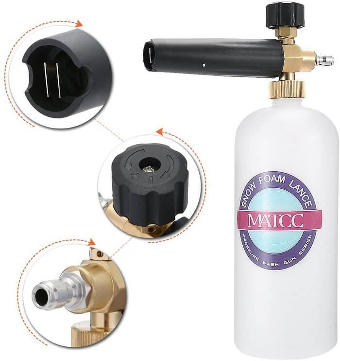 MATCC Adjustable Foam Cannon