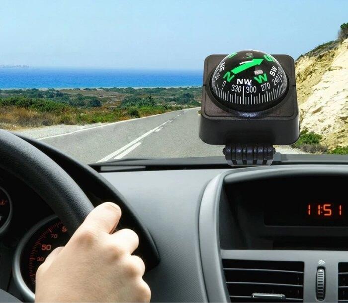 Navigation-Dashboard-Car-Compass