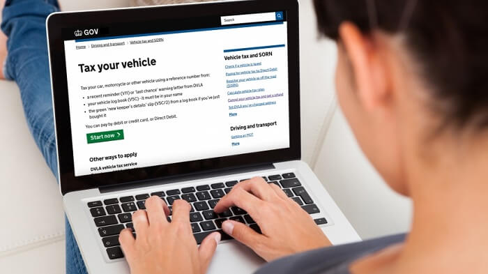 car tax pay