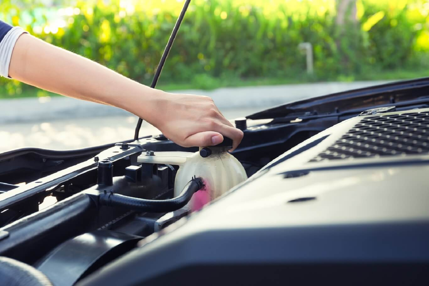 signs of low coolant