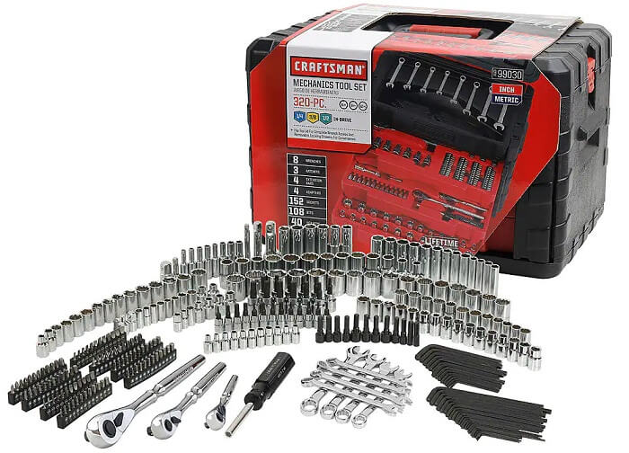 450 Piece Mechanics Tool Set by Craftsman