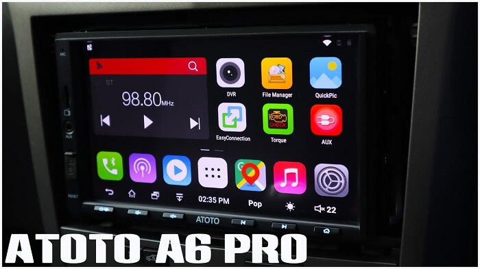 Atoto A6 Double-DIN Car Stereo
