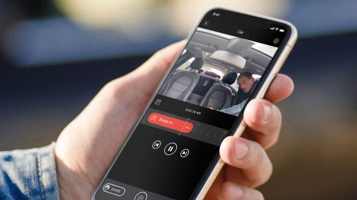 car to mobile alarm application