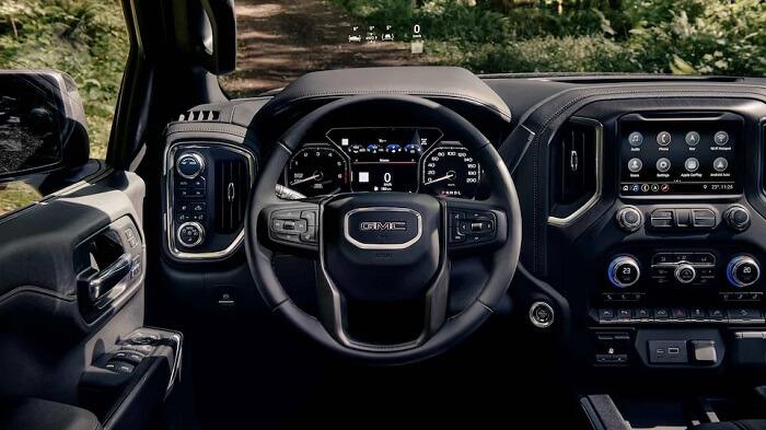 drive with GMC heads up display
