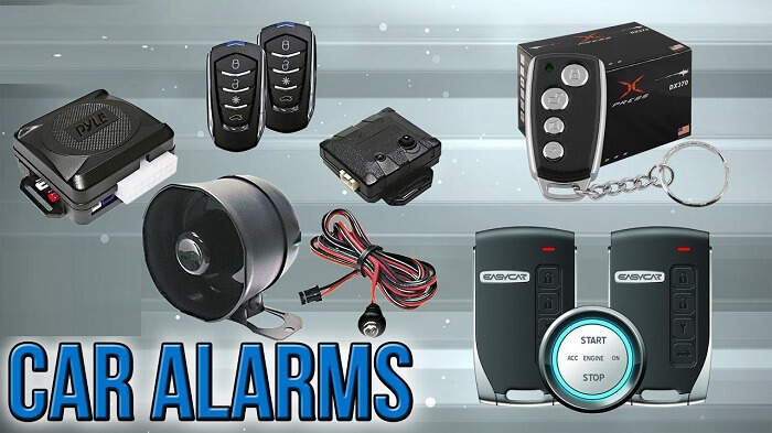 kinds of car alarms