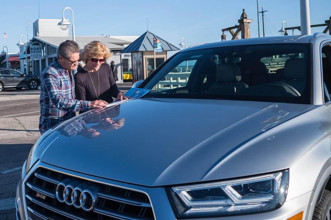 seniors selling cars